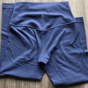 lululemon athletica Pants - Lululemon Align-Moody Blue Crops